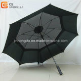 Paraguas del golf de la capa doble con la pieza inserta Jhdg0002&#160 del acoplamiento;