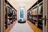 Hölzerne Walk-in Wandschrank-Garderobe des europäischen klassischen Mattlack-2016
