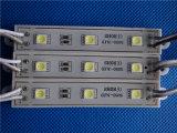 Módulo de Weterproof DV12V 5050 3LEDs SMD LED para las cartas de canal