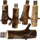 Mecanismo impulsor de madera 1GB - 32GB del flash del USB de la ramificación