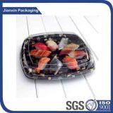 El rectángulo plástico sano de Bento del almuerzo de la capacidad grande