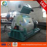 máquina de madeira do moinho de martelo da alimentação de madeira da máquina do moedor 1-5t