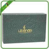 Boîte-cadeau de papier élégante du carton A5 avec le papier de fantaisie