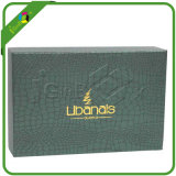 Caixa de presente de papel elegante do cartão com papel extravagante