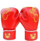 Самая лучшая продавая перчатка бокса, перчатка бокса Cowhide кожаный (LDXU-1302)