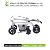 Caminhante de dobramento do joelho com assento ajustável