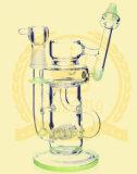 Korona-Fabrik-Ölplattform-Trinkwasserbrunnen-rauchendes Wasser-Glasrohr Soem-ODM-Hebei