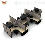 새로운 디자인 현대 똑바로 6개의 시트 사무실 분할 워크 스테이션 (HY-285)