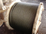 Corde Non- de fil d'acier de Gavanazied de rotation