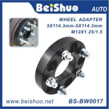 Espaciador de la rueda/adaptador de aluminio de la rueda del borde de rueda
