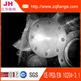 Transparenter Lack-Kohlenstoffstahl En1092-1 Type01 flechten Flansch