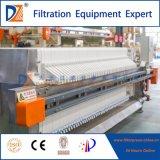 Prensa de filtro automática del S.S. 304 para el tratamiento de desecación del lodo