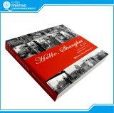 Impression blanche de livre de photo de noir d'obligatoire parfait