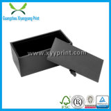 Kundenspezifischer schwarzer harter Papierverpackengeschenk-Kasten