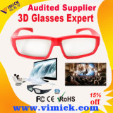 3D 텔레비젼을%s 다채로운 Plastic Circular Polarized 3D Video Eyewear Glasses