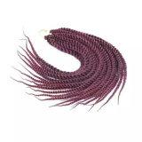 Cheveux de tresse de crochet de torsion de mambo de La Havane, cheveux enormes de tresse de torsion de mambo de La Havane