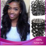 Menschenhaar-unverarbeitetes Haar-Spitze-Stirnbein