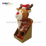Elektrischer Weihnachtsren-Plüsch u. angefülltes Spielzeug