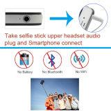 Palillo atado con alambre extensible de Selfie del clip plegable mini para Smartphone