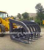 Maquinaria Agrícola de la retroexcavadora Cargador de ruedas con excavadora y Cubo Hecho en China