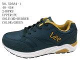 Numéro 50384 deux chaussures d'action de sport d'hommes de tailles importantes de couleurs