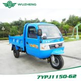Triciclo 3-Wheel motorizado Diesel da carga Closed com a cabine de China