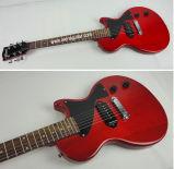 Гитара оптового младшего верхнего твердого Mahogany типа Lp тела электрическая