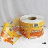 Étiquette de chemise de rétrécissement de chaleur de PVC pour des bouteilles/bidons