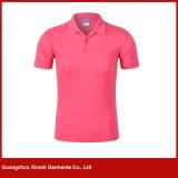OEMの工場ブランクの速い乾燥したジャージーのポロシャツ(P121)