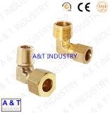 CNCによってカスタマイズされる真鍮かステンレス鋼の熱い造られた管付属品の部品
