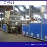 Linha de produção plástica do perfil do PVC