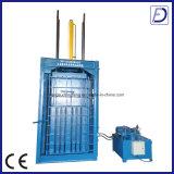 Paño inútil hidráulico vertical que recicla la máquina