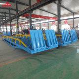 rampe mobile hydraulique de dock de passerelle de charge de conteneur pour le camion