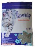 Litera de gato que agrupa de papel libre de polvo