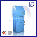 Máquina de reciclaje plástica inútil hidráulica vertical