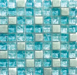 熱い販売の正方形の割れたガラスモザイク(15*15)