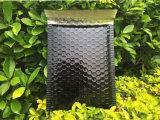Bolso aluminizado negro del sobre de la burbuja de la membrana