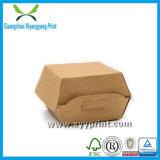 L'usine personnalisée réutilisent la boîte de papier à hamburger avec l'impression