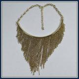 Neuer Feld-Entwurfs-Harz-Stock-hängende Halsketten-Form-Schmucksachen