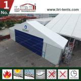 abri d'avions de tente de hangar de largeur d'envergure de 25m avec la porte de roulement