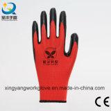 13G 폴리에스테 니트릴에 의하여 입히는 노동 방어적인 산업 작동 장갑 (N006)