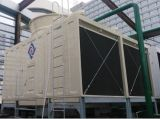 교차하는 Flow Rectangular 2cells CTI Certified FRP Water Cooling Tower