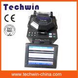 Splicer Tcw605 сплавливания волокна Techwin цифров оптический сведущий для конструкции линий хобота и FTTX
