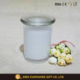 Glasglas des stash-6oz mit weißer Farbe und freier Kappe