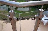 Inferriata di vetro della balaustra del sistema del corrimano del morsetto