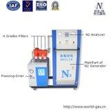 Gerador do nitrogênio para o pacote do alimento