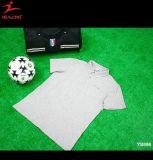 Conception faite sur commande en gros blanche de T-shirt de polo de Mens d'usine de la Chine