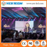 P3.9 Curved Indoor Rental LED Display Panel para Publicidade / Estágio