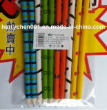 Crayon coloré d'impression avec la gomme à effacer de dessin animé, Sky-015