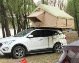 Barraca dura ao ar livre da parte superior do telhado do escudo da fibra de vidro do carro de acampamento